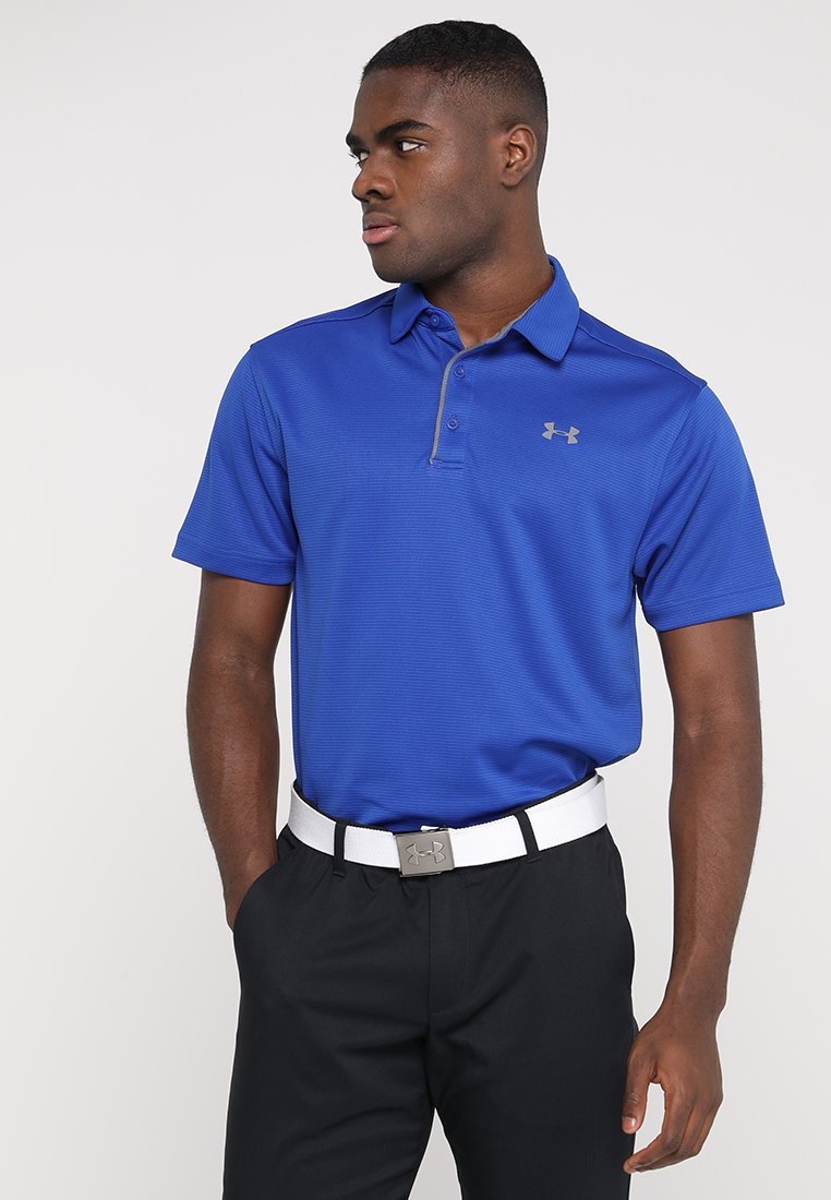 Under Armour - TECH - Sports shirt - royal/graphite