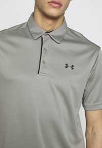 Under Armour - TECH - Sports shirt - gravity green/black - 5