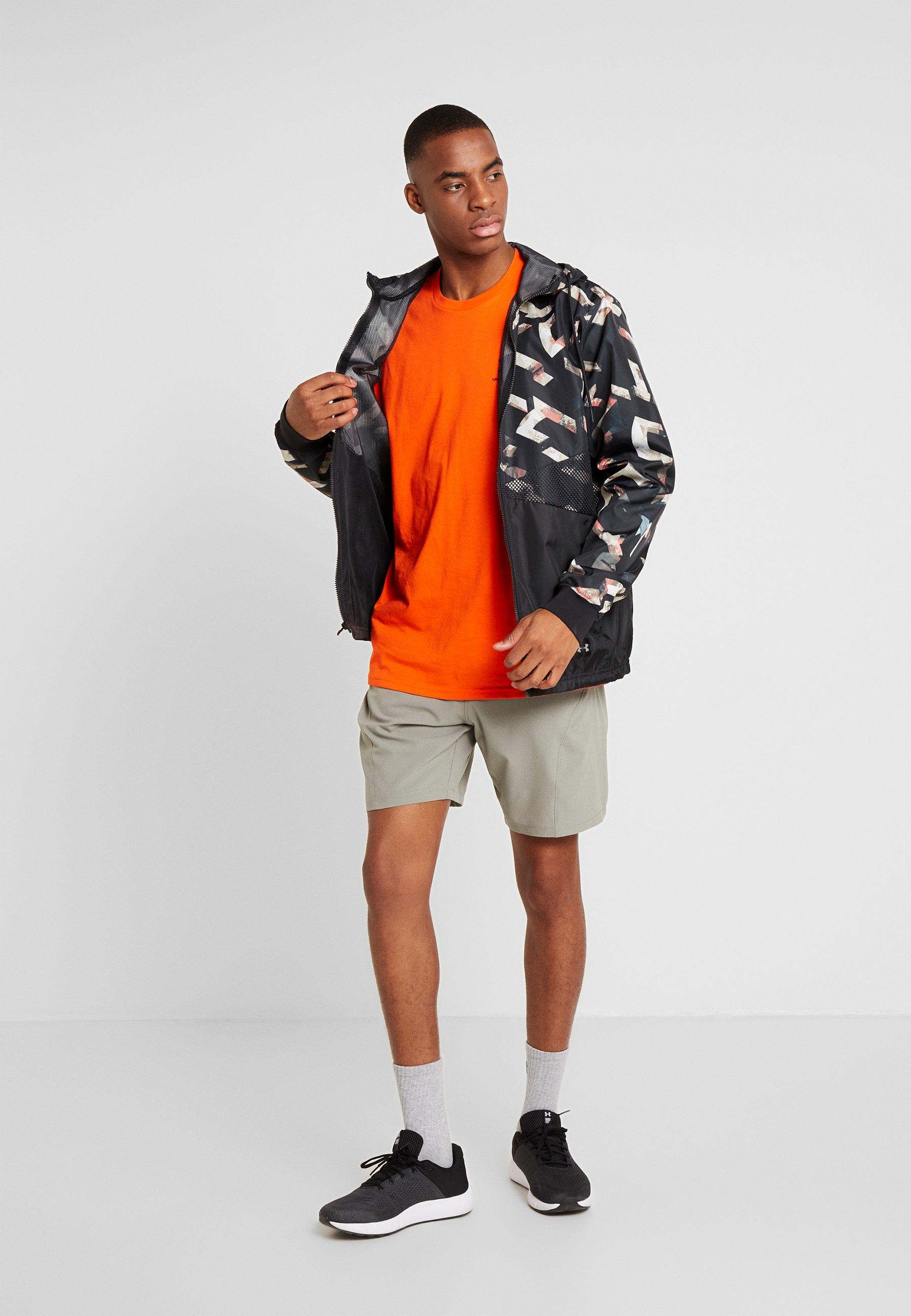 Under Armour T-shirt basic - ultra orange/black