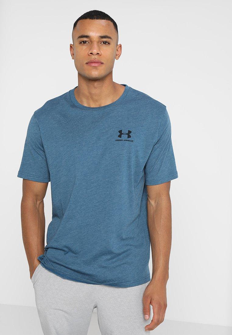 Under Armour - SPORTSTYLE LEFT CHEST - T-Shirt basic - blue