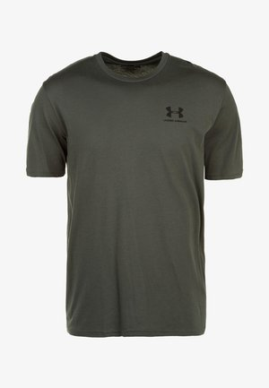 SPORTSTYLE LEFT CHEST - Basic T-shirt - baroque green