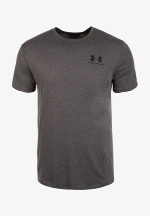 SPORTSTYLE LEFT CHEST - Basic T-shirt - charcoal medium heather