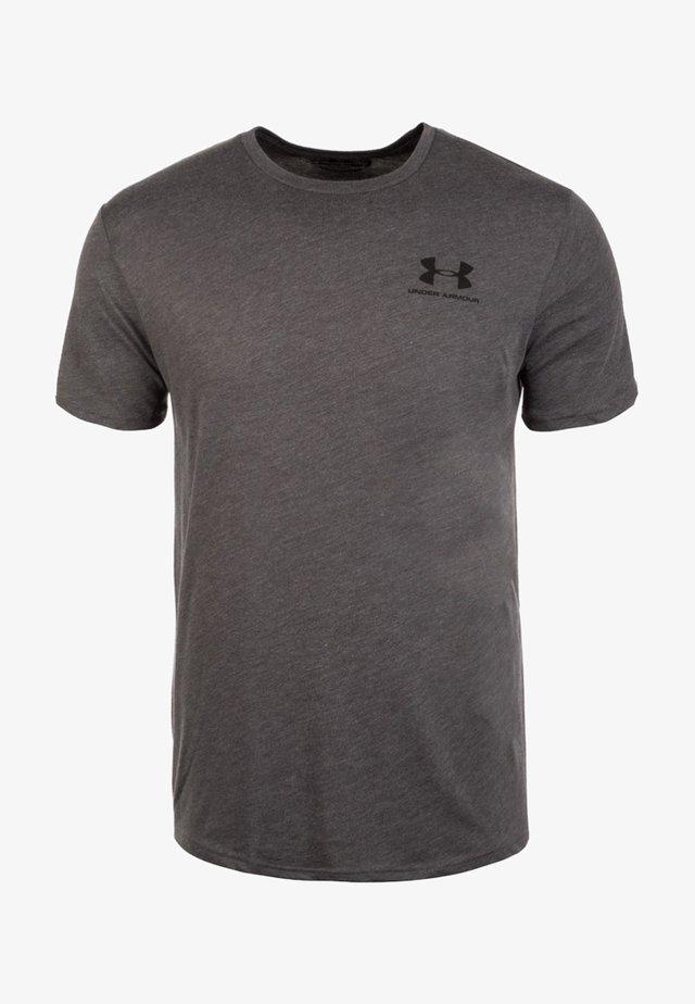 SPORTSTYLE LEFT CHEST - T-shirt basic - charcoal medium heather