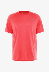 Under Armour - TECH TEE - Funkční triko - barn/black - 4