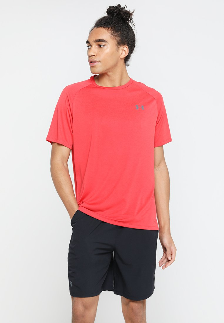 Under Armour - TECH TEE - Funkční triko - barn/black