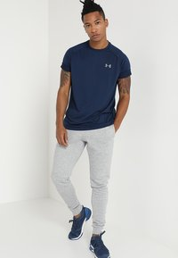 Under Armour - TECH TEE - T-shirt sportiva - academy/graphite