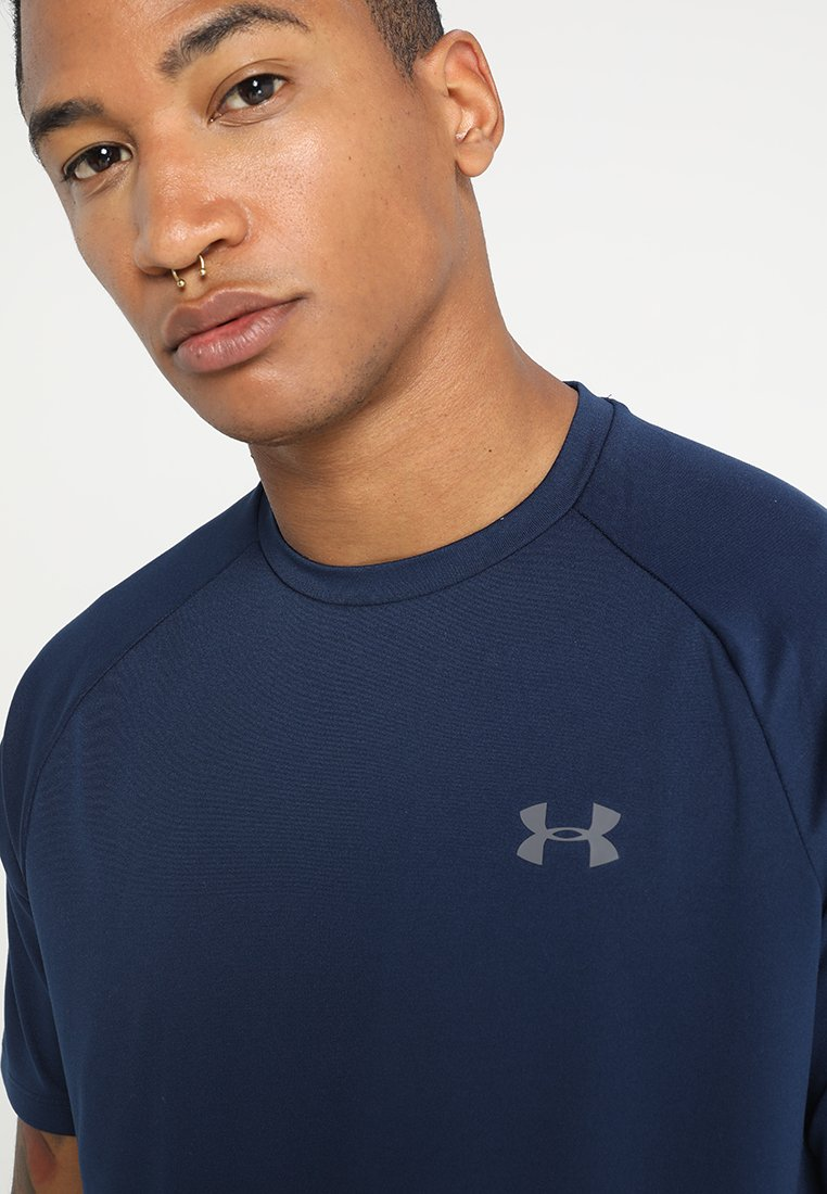 Under Armour Tech Tee - T-shirt Basique Academy/graphite