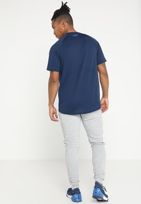 Under Armour - TECH TEE - Camiseta básica - academy/graphite - 2