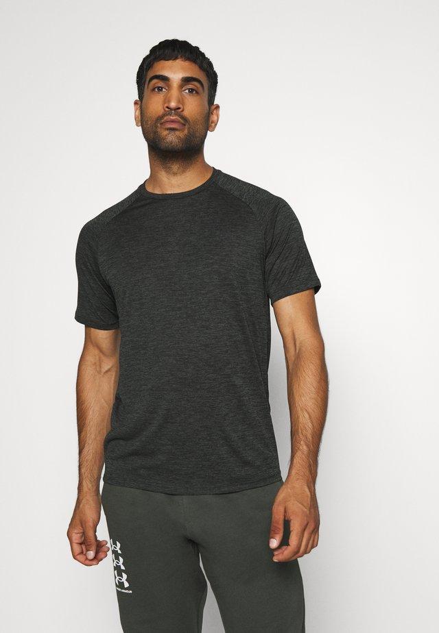 HEATGEAR TECH  - T-shirts med print - baroque green
