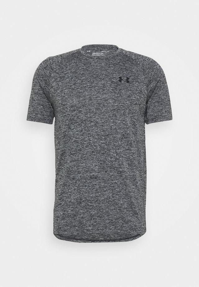 HEATGEAR TECH  - Print T-shirt - black