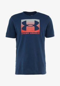 Under Armour - BOXED STYLE - T-shirt imprimé - academy/red - 4