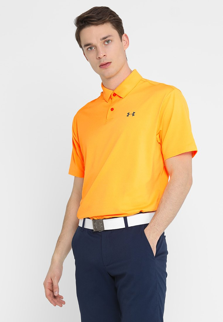 Under Armour - PERFORMANCE 2.0 - Poloshirt - mango orange/pitch gray