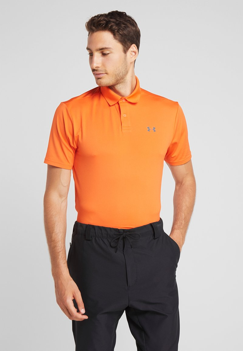 Under Armour - PERFORMANCE 2.0 - Poloshirt - papaya/pitch gray
