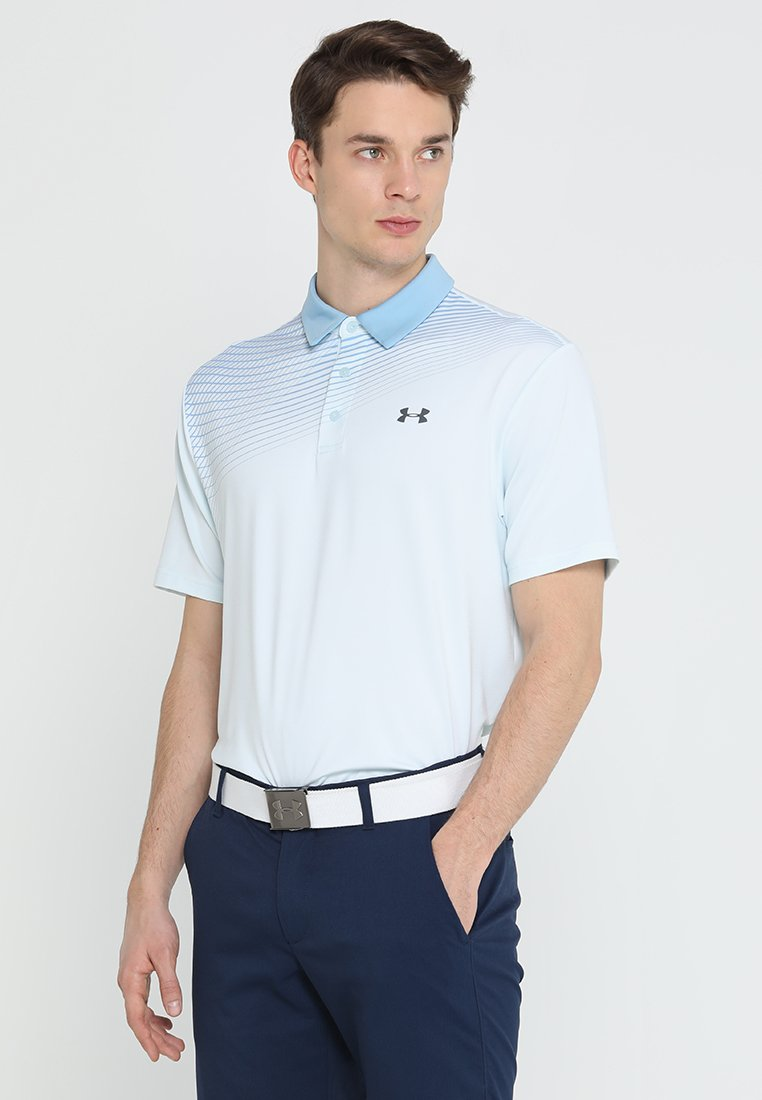 Under Armour - PLAYOFF 2.0 - Funktionstrøjer - coded blue/boho blue/pitch gray