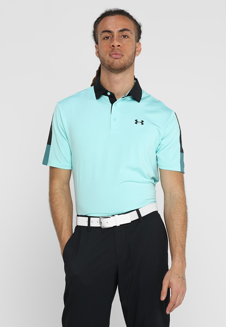 Under Armour - PLAYOFF - Funktionstrøjer - neo turquoise/pitch gray
