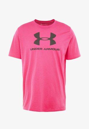 SPORTSTYLE LOGO - Print T-shirt - exuberant pink/black