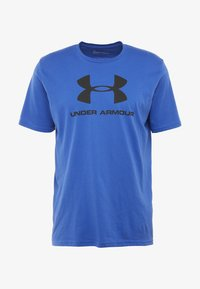Under Armour - SPORTSTYLE LOGO - T-shirts med print - versa blue/black - 4