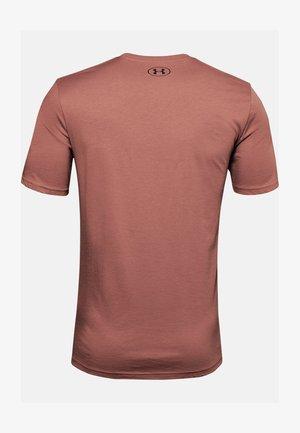 STYLE - Print T-shirt - cedar brown