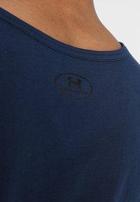 Under Armour - SPORTSTYLE LOGO TANK - Sports shirt - academy/white - 5