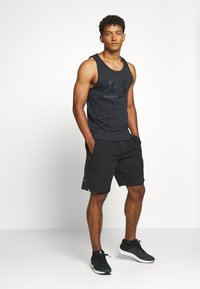 Under Armour - SPORTSTYLE LOGO TANK - Sports shirt - black - 1