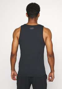 Under Armour - SPORTSTYLE LOGO TANK - Sports shirt - black - 2