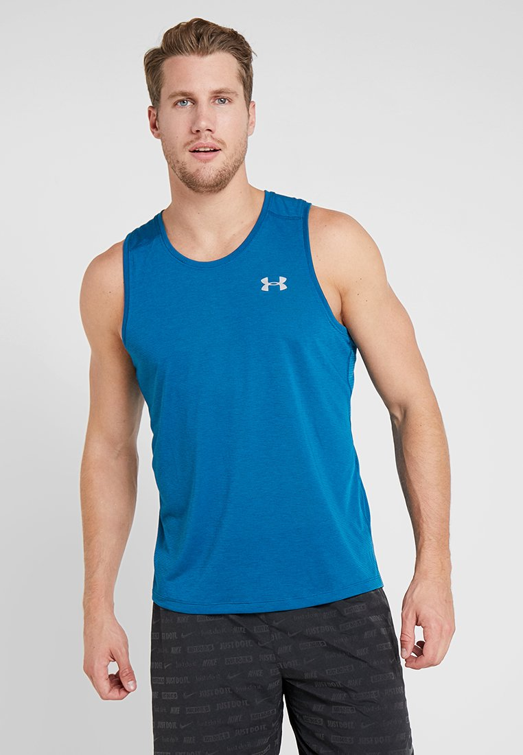 Under Armour - STREAKER 2.0 SINGLET - Sports shirt - teal vibe