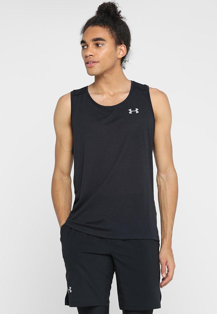 Under Armour - STREAKER 2.0 SINGLET - Sports shirt - black