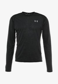 Under Armour - STREAKER LONGSLEEVE - T-shirt de sport - black/reflective - 4