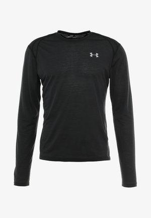 STREAKER LONGSLEEVE - Sportshirt - black/reflective