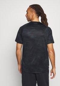 Under Armour - TECH 2.0  - T-shirt print - black/pitch gray - 2