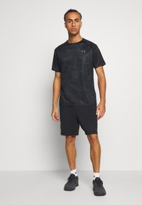 Under Armour - TECH 2.0  - T-shirt con stampa - black/pitch gray - 1