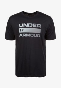 Under Armour - HEATGEAR - T-shirt imprimé - black - 0