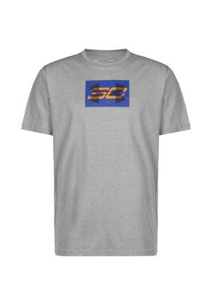 SC30 OVERLAY SS TEE - T-Shirt print - grey