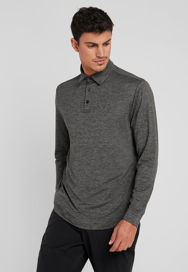 Under Armour - LONG SLEEVE PLAYOFF 2.0 - Funktionstrøjer - black/pitch gray
