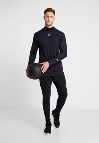 Under Armour - SELECT SHOOTING - Funktionströja - black/silver - 1