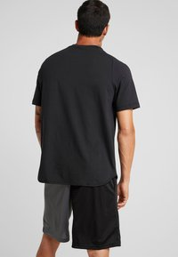 Under Armour - UNSTOPPABLE MOVE TEE - Printtipaita - black - 2
