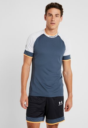 CHALLENGER TRAINING  - Print T-shirt - wire/halo gray