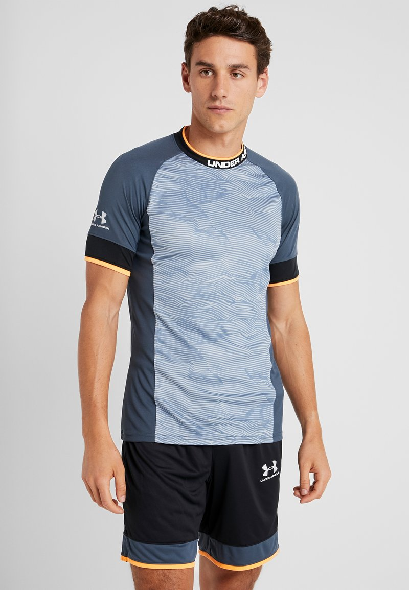 Under Armour - Camiseta de deporte - wire/black/halo gray