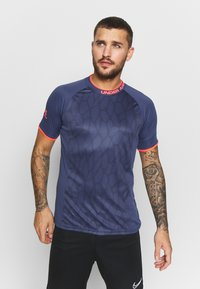 Under Armour - CHALLENGER NOVELTY - Print T-shirt - blue ink/beta - 0