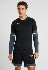 Under Armour - CHALLENGER MIDLAYER - Long sleeved top - black/wire/halo gray - 0