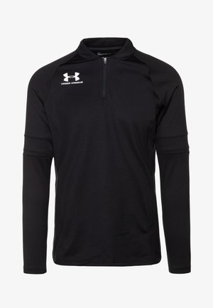 CHALLENGER MIDLAYER - Fleece jumper - black/white
