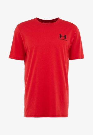 SPORTSTYLE BACK TEE - T-shirt print - red/black