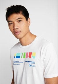 Under Armour - I WILL  - Print T-shirt - white/steel - 5