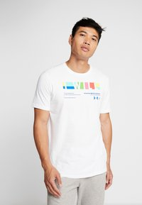Under Armour - I WILL  - Print T-shirt - white/steel - 0