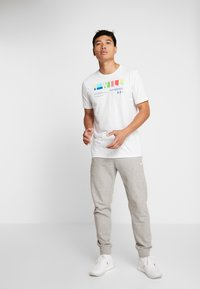 Under Armour - I WILL  - Print T-shirt - white/steel - 1
