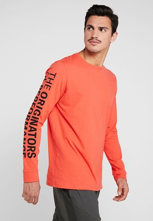 ORIGINATORS OF PERFORMANCE  - T-shirt sportiva - martian red/black