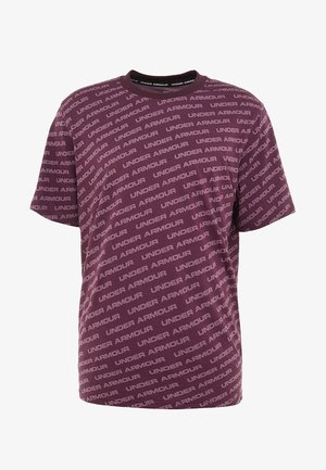 UNSTOPPABLE WORDMARK TEE - T-shirt imprimé - kinetic purple