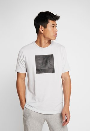 UNSTOPPABLE TEE - T-shirt med print - halo gray/black