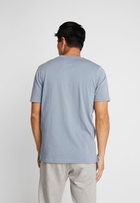 Under Armour - UNSTOPPABLE TEE - T-shirt print - ash gray/white - 2