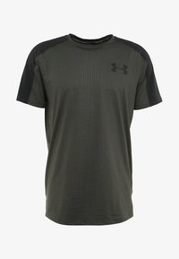 Under Armour - EMBOSS - Printtipaita - baroque green/black - 4